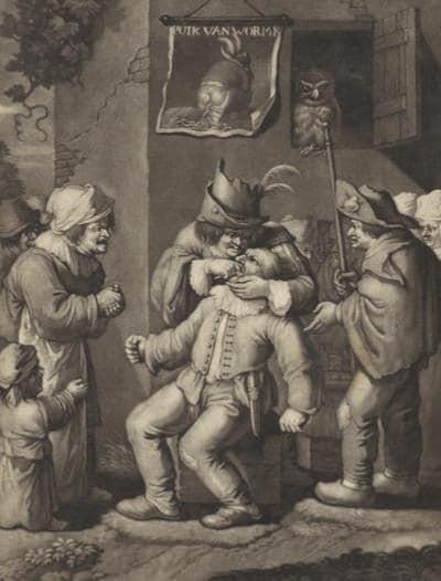 שתלים בפה מהמאה ה-17