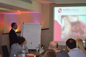 הרצאה לקבוצת רופאי שיניים בינלאומית