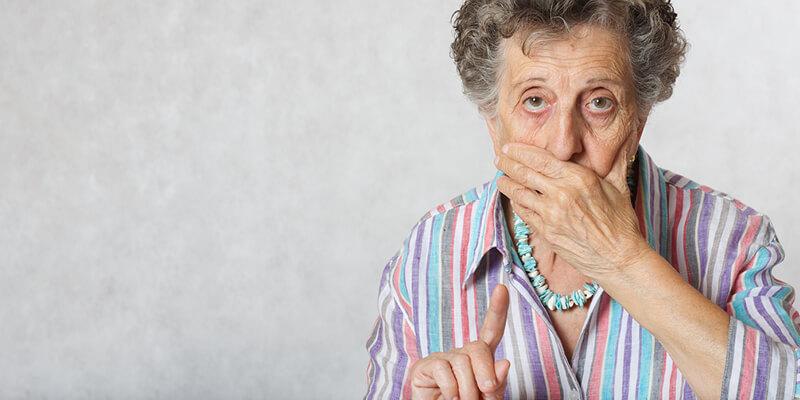 סבתא בלי שיניים